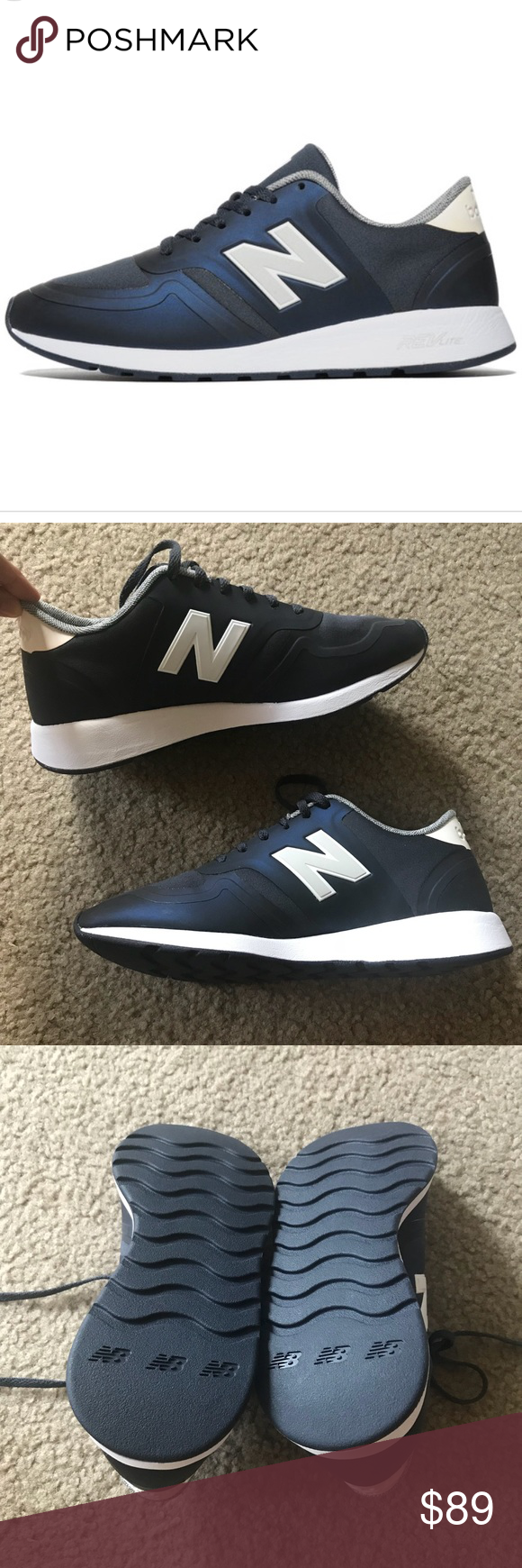 New balance sneakers New and unworn. Size 8 but run a little snug ...