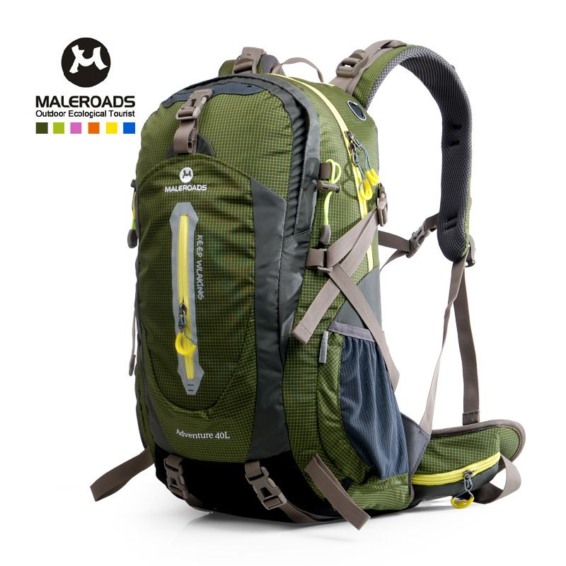 Maleroads 40L outdoor sport bag women&men travel backpack climbing ...