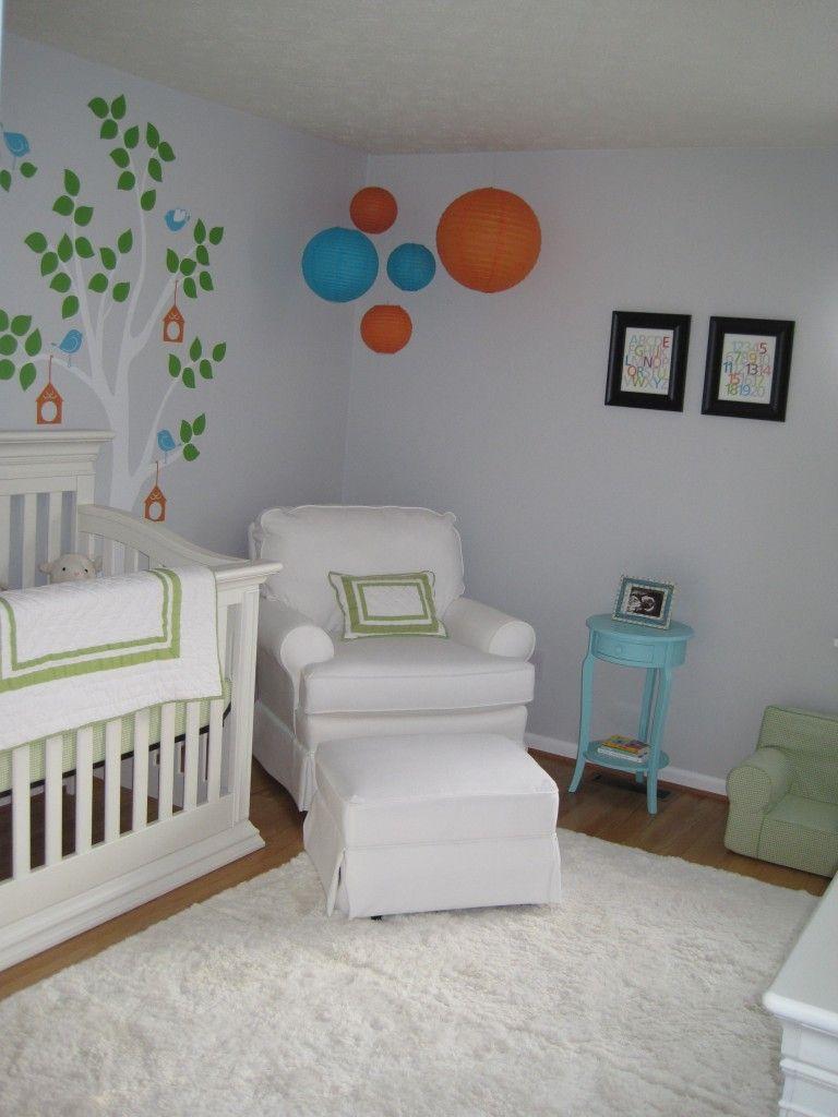 Neutral Nursery Themes Ideas: Bright Gender Neutral Nursery