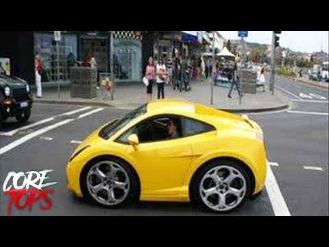 Personas Manejando Mini Vehiculos Youtube Coches Extranos Coches Tuneados Coches Chulos