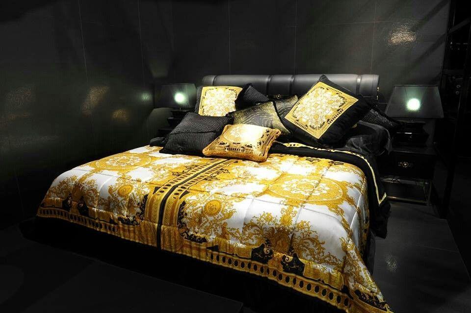 Schlafzimmer Versace ~ Versace bedding style! bedroom love!!! pinterest möbel und