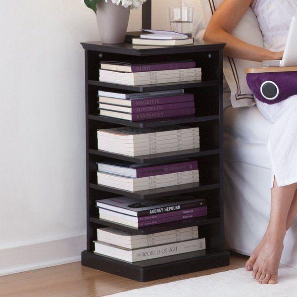 Best Small Bedroom Furniture Ideas – Narrow Nightstand Designs 400 x 300