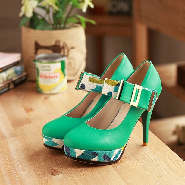 big size  4colors sexy buckle pump thin heel women shoes dress high heel shoes Spring/autumn shoes YME-MD-25Q