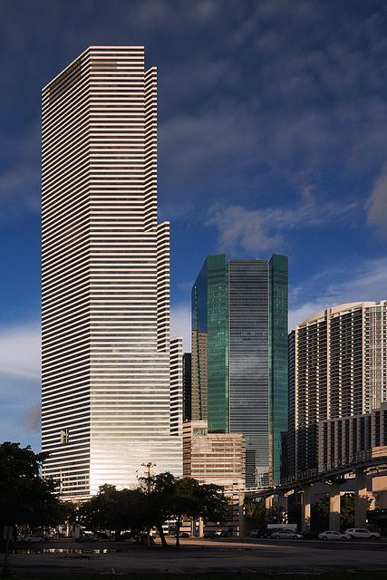 Miami Tower Miami Tower Downtown Miami Miami City