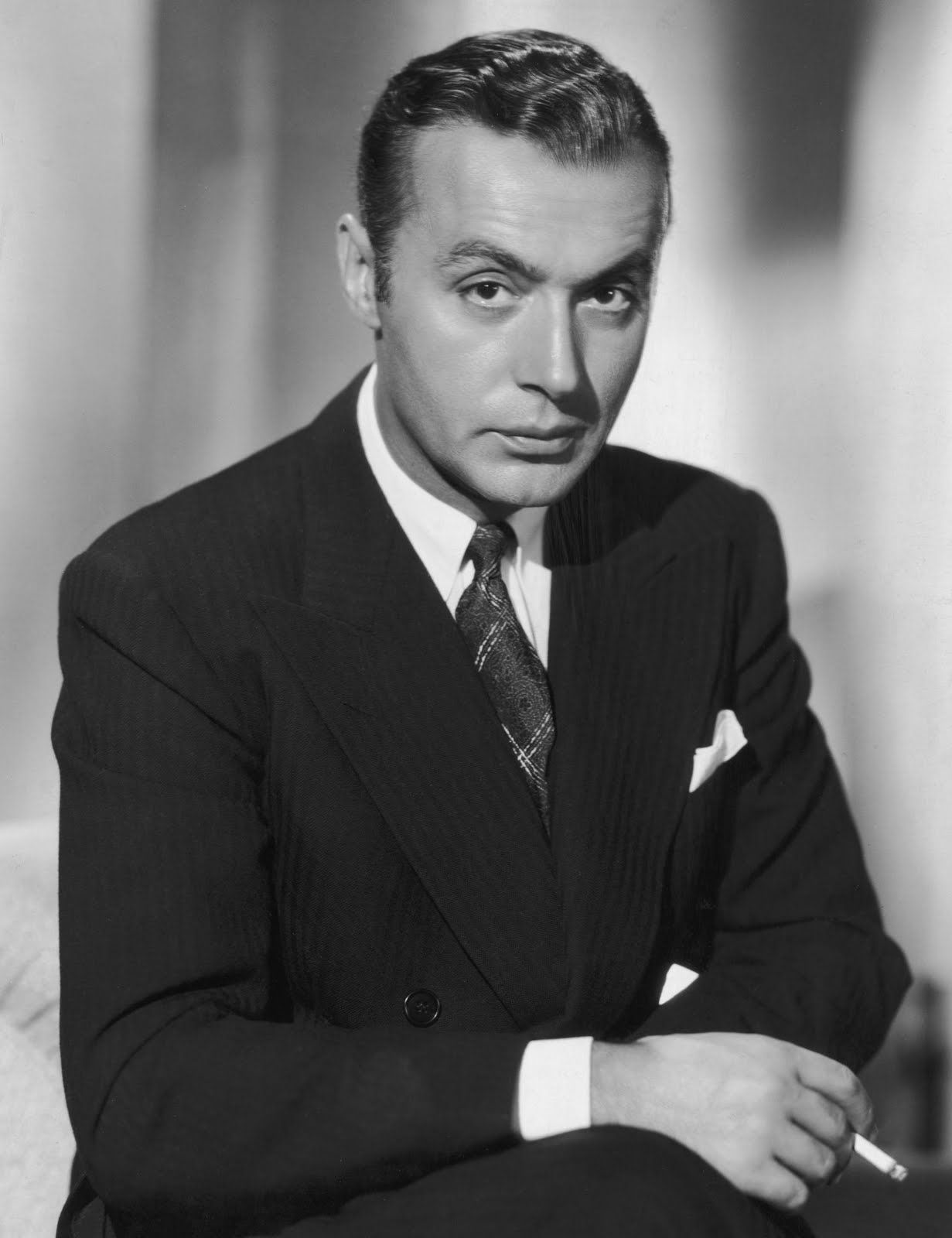 Charles Boyer was a French-born stage and film actor. Raised mostly by his mother as his father died when he was young, Boyer was always enchanted by movies and at 18 moved to Paris. He immediately found fame due to his face and natural talent. He starred in 70 films and is best known for his roles in Algiers and Love Affair. He was married for 44 years and committed suicide after his wife died.