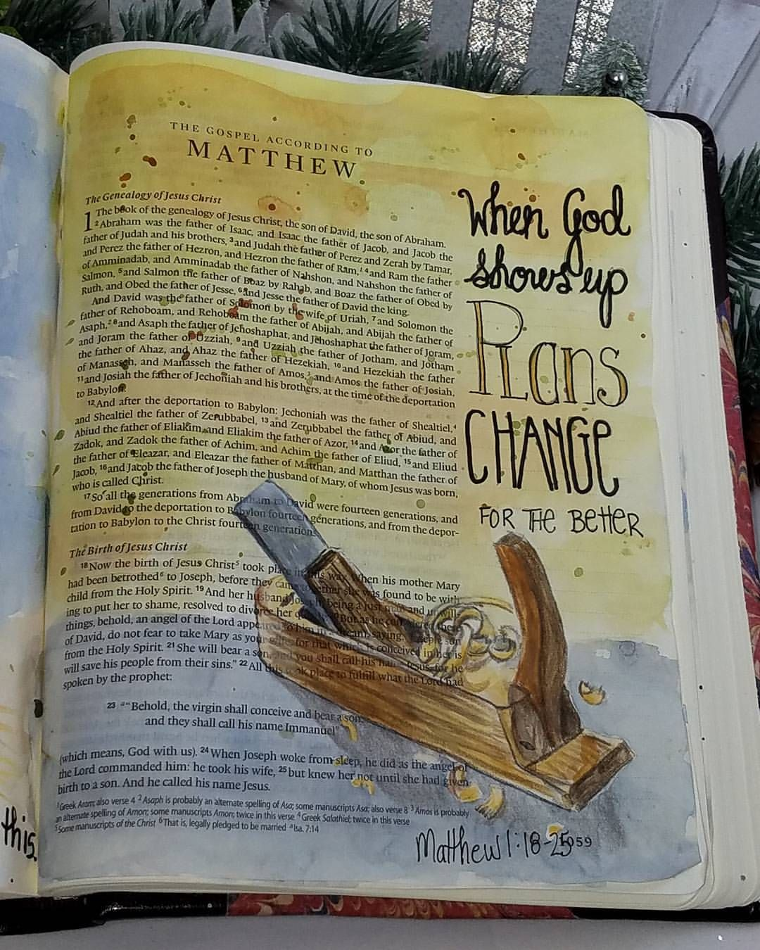 Pin by Esther on Bible journal Matthew | Bible study journal