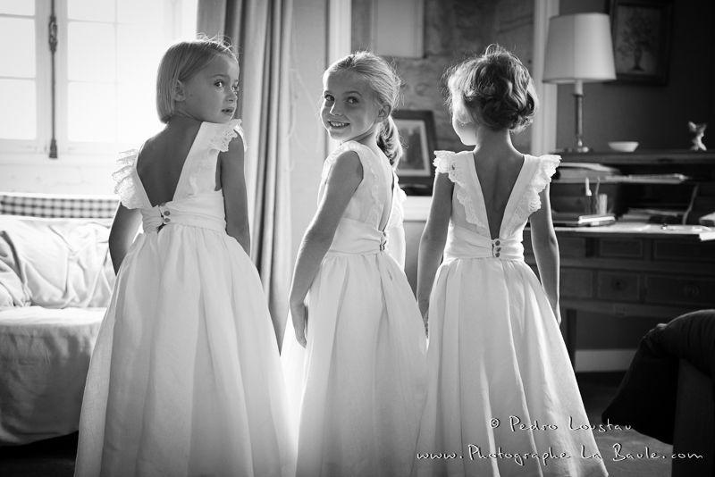 petites filles d 39 honneur robes en 2019 robe enfant. Black Bedroom Furniture Sets. Home Design Ideas