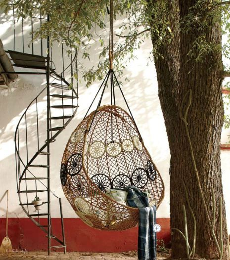 Best Hanging Chair And Spiral Staircase D Hammock Swing 400 x 300