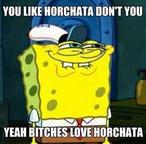 HORCHATA :)