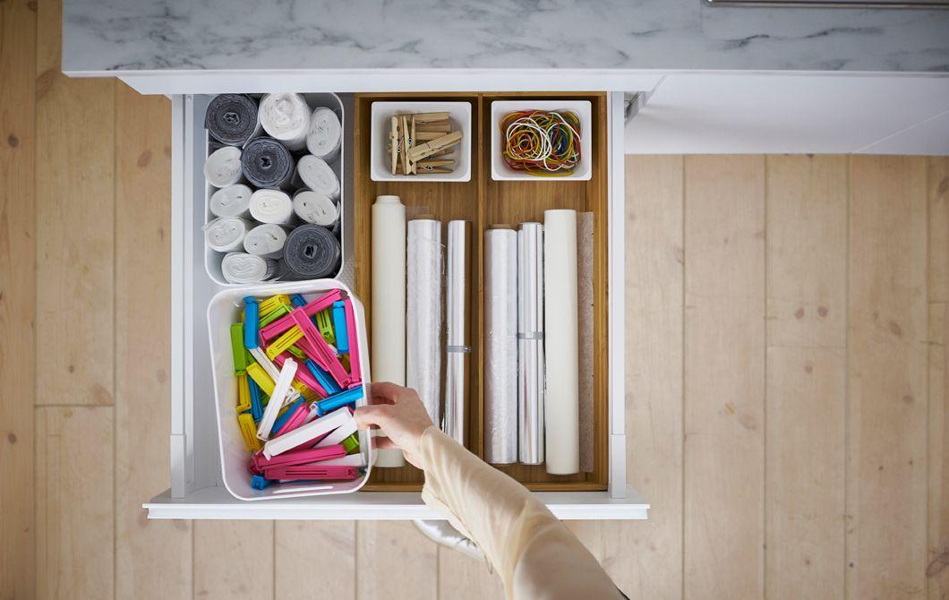 IKEA Aufbewahrungslösungen für die Küche (siehe Video) | Küche ...