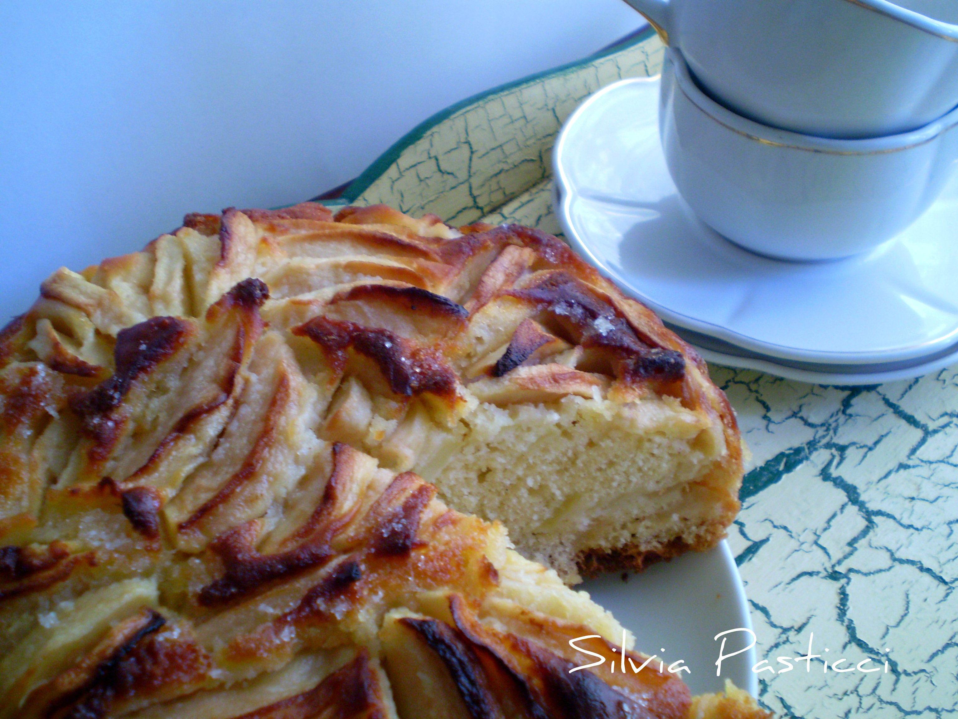 Photo of Torta di mele e yogurt (senza burro!)