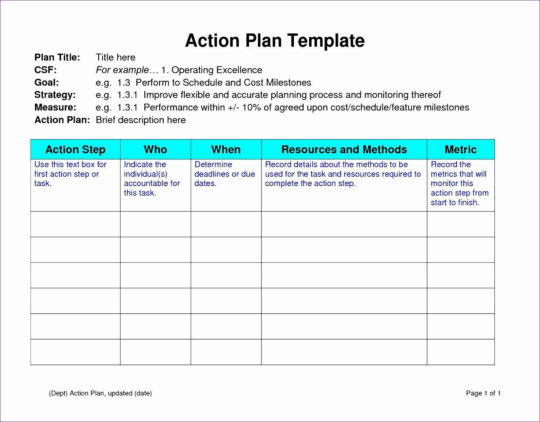 Performance Improvement Plan Template Excel Beautiful 12