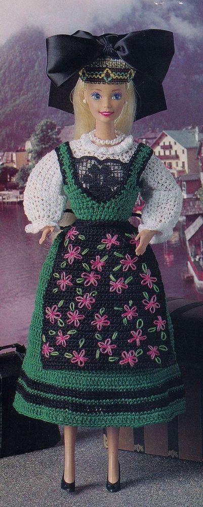 Alsatian Mademoiselle, Crochet Doll Clothes Pattern BYOB Build Ur Own Binder #BuildUrOwnBinderofFavs