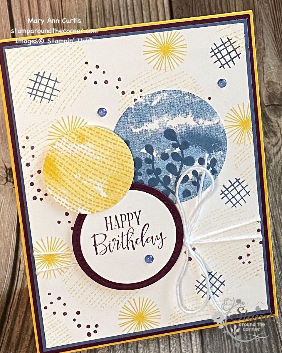 Circle Celebration Stamp Set; Stampin' Up!