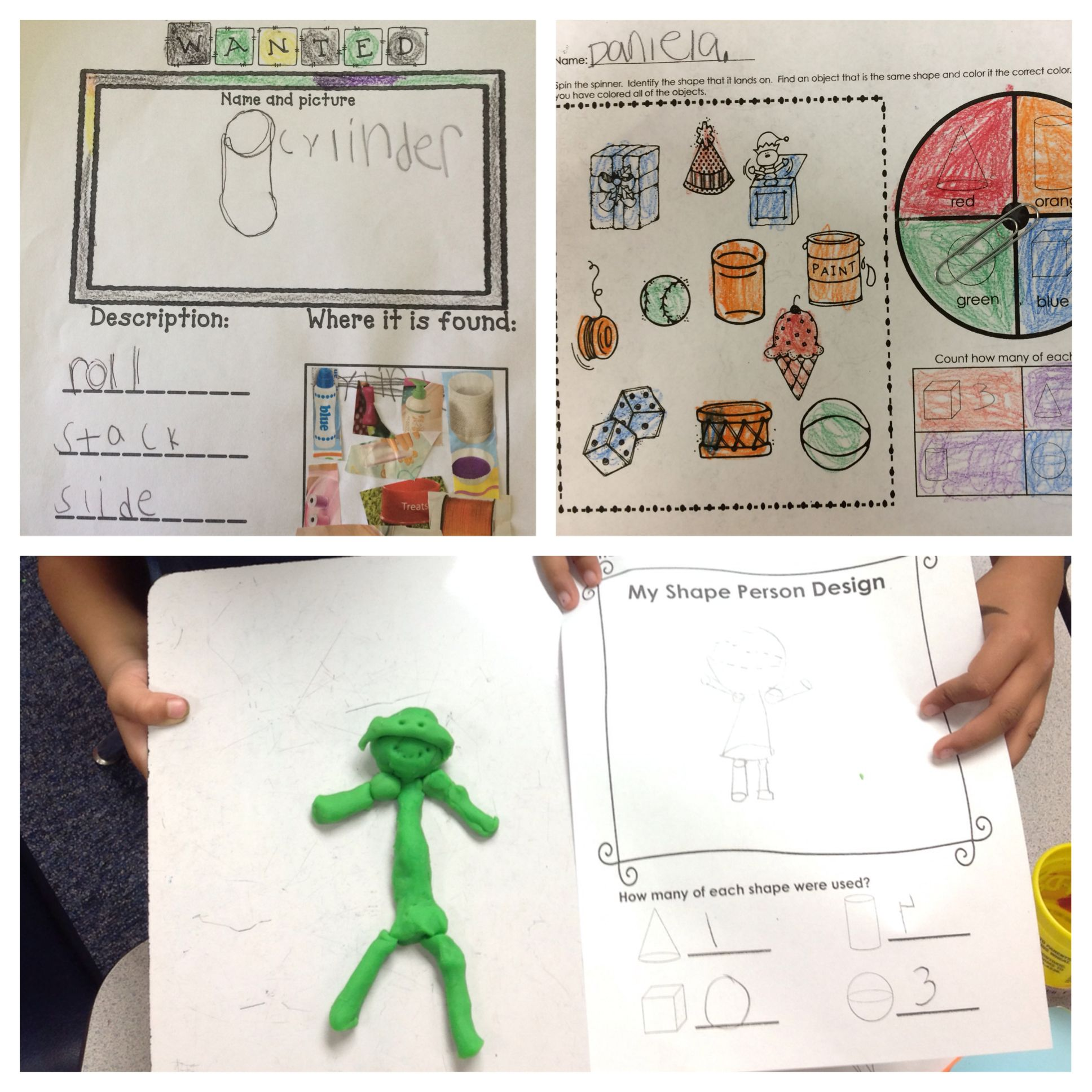 Shapes Activities Solid And Flat Shapes