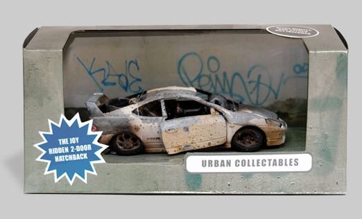 "Urban Collectables ""the joy ridden hatchback"""