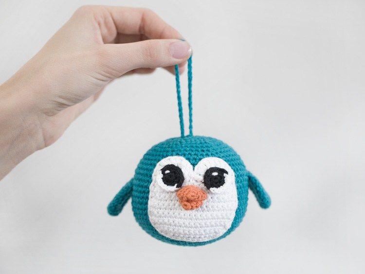 free crochet pattern amigurumi penguin | Amigurumi | Pinterest ...