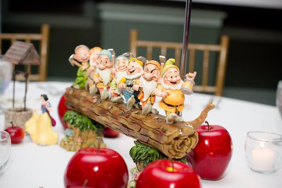 ❥ Snow White | Centerpiece #snowwhite