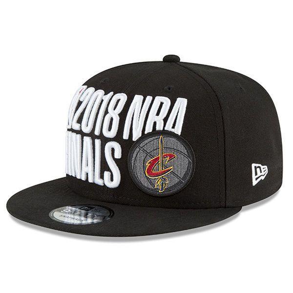 c956c476a87ca Cleveland Cavaliers New Era 9FIFTY 2018 NBA Finals Locker Room Snapback Hat  Cap
