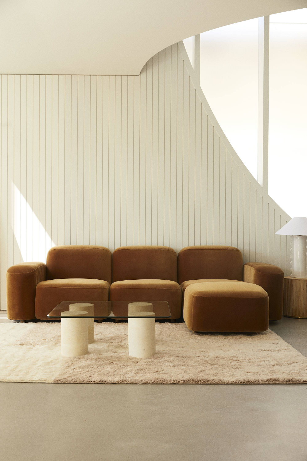 SOL Is Sarah Ellison's 1970s Inspired Geometric Furniture Collection