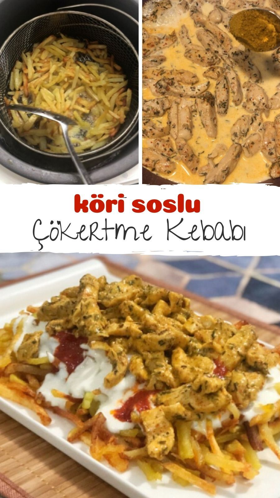 Photo of Cokertme Kebab (Chicken) with Curry Sauce – Delicious Recipes