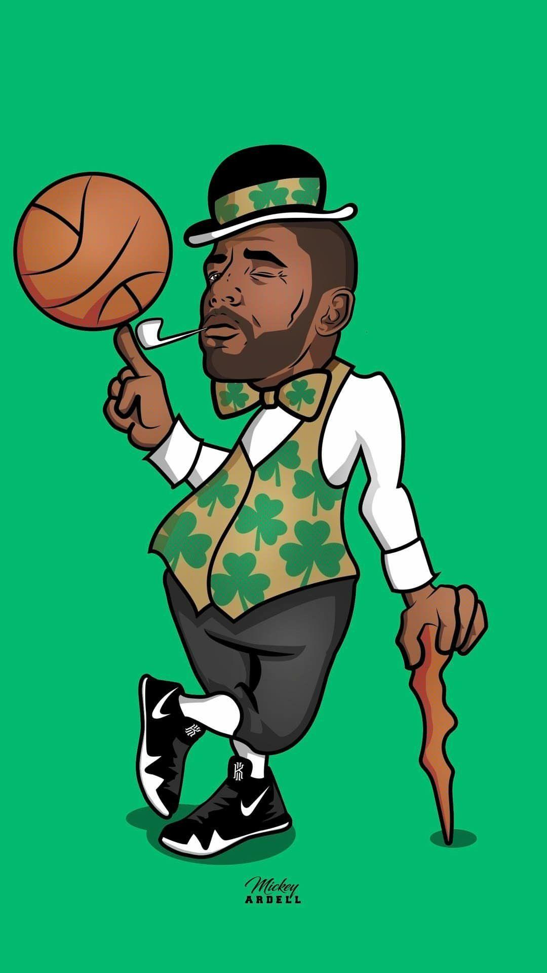 Kyrie Irving Boston Celtics Wallpaper Boston Celtics Wallpaper Irving Wallpapers Kyrie