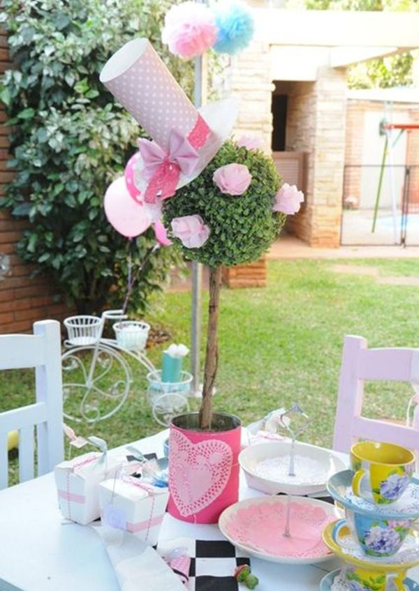 Top 8 mad hatter tea party ideas tea party ideas - Mad hatter tea party decoration ideas ...
