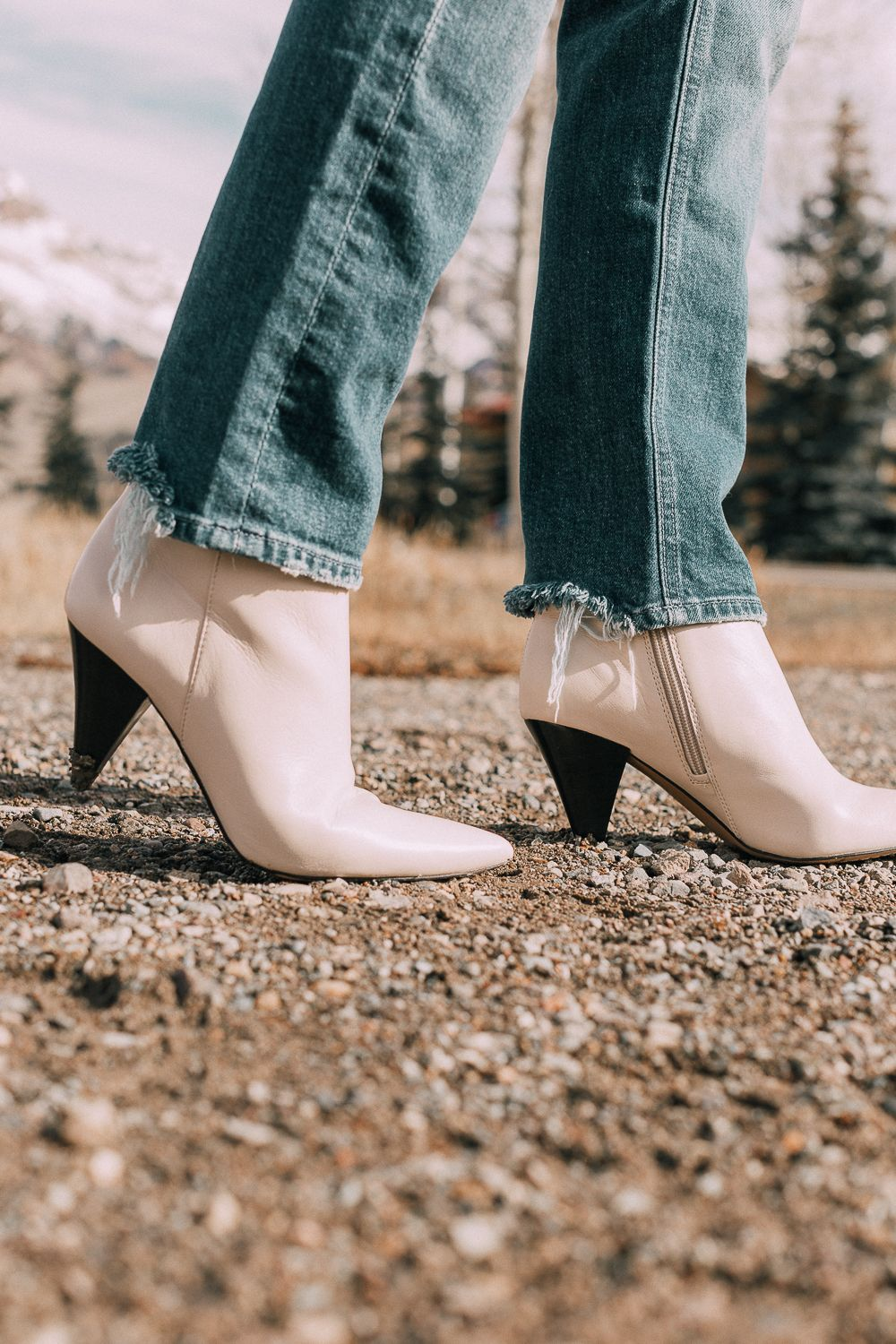 Pin on Booties white