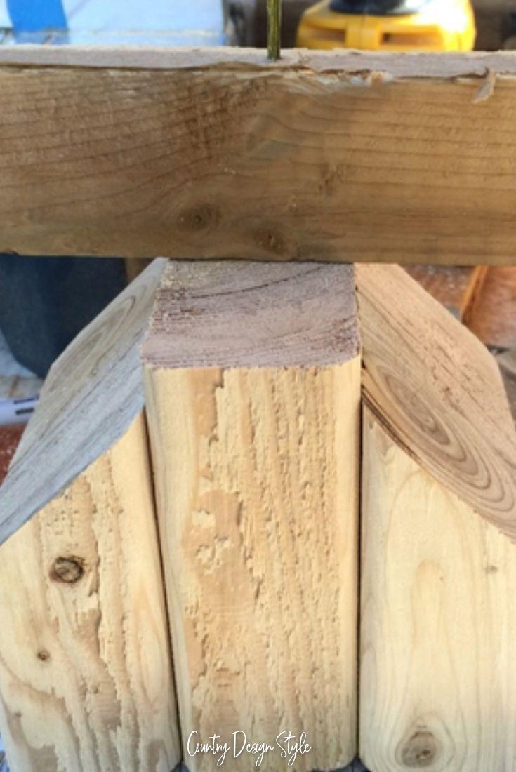 Planked Wood Tree | ! DIY- HOUSE BEAUTIFUL ! | Pinterest