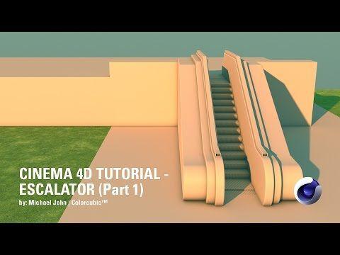 Cinema 4D Tutorial - Escalator Seamless Loop (Part 1) - YouTube