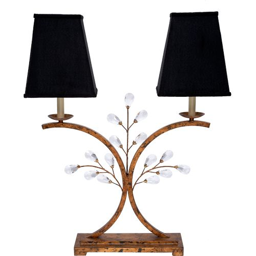 La 7020 Old World Designs Metal Table Lamps Gold Metal Table Crystal Table Lamps Old world design lighting