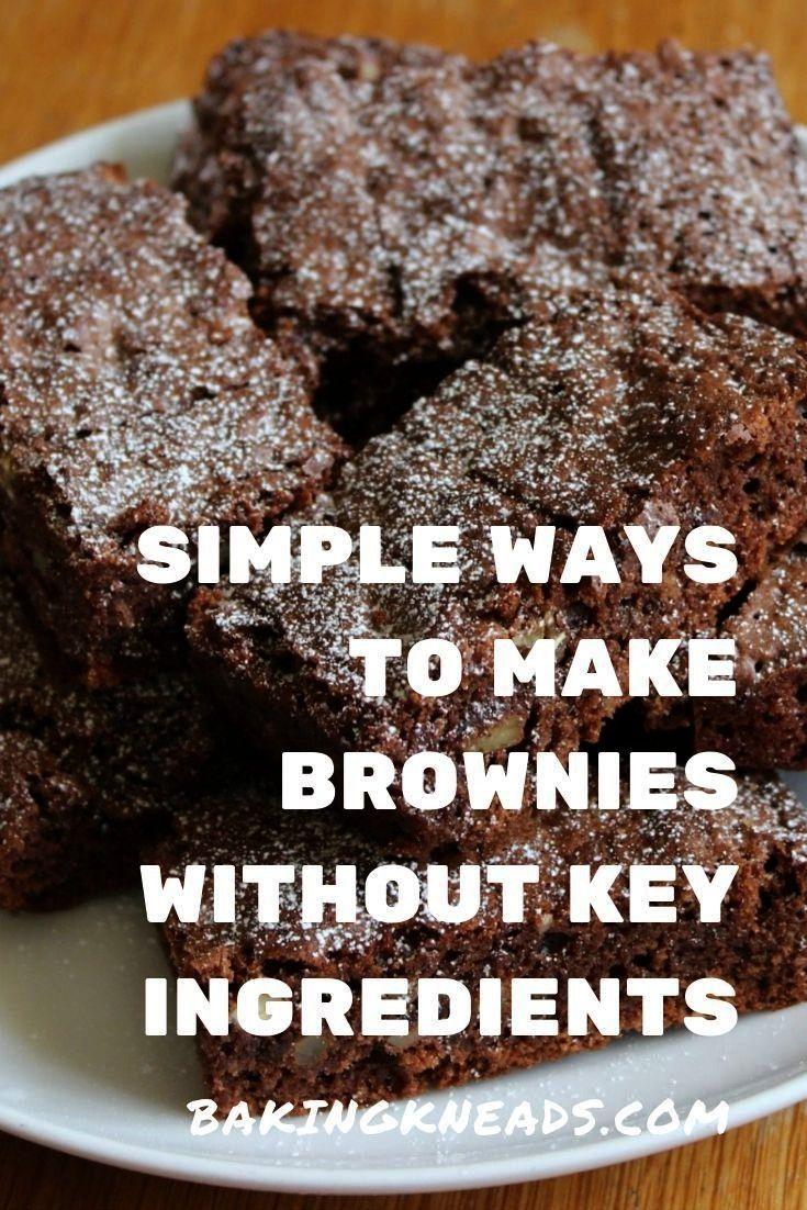 Ways To Make Brownies Without Key Ingredients Simple Ways To Make s Without Key Ingredients browni