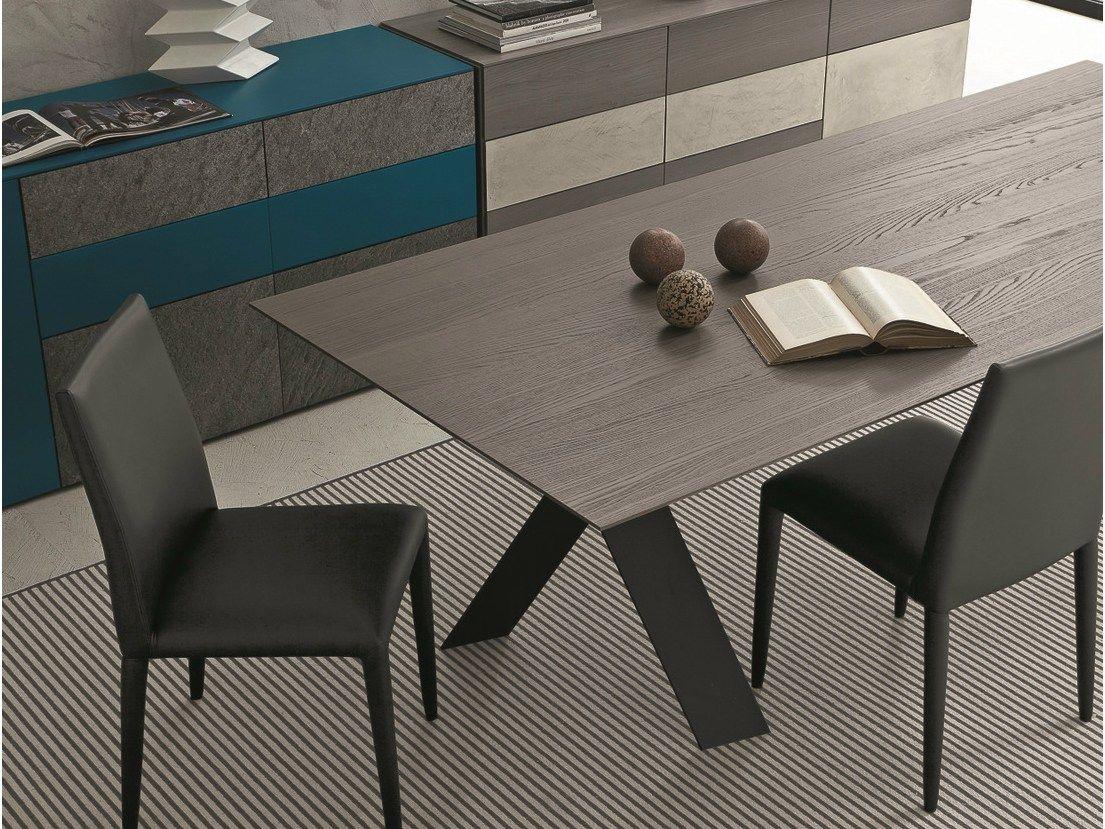 Tailor tavolo in rovere by presotto industrie mobili for Presotto mobili prezzi