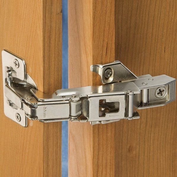 Blum 170 Degree Clip Top Full Overlay Screw On Cabinet Hinge With