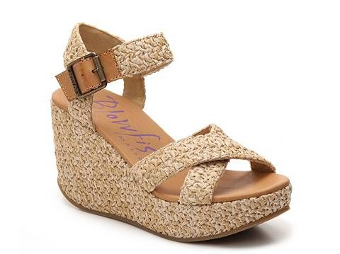 7d50d7b180bb3e Blowfish Dellis Wedge Sandal