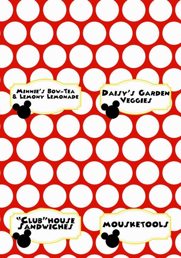 Emma Ramey\u0027s Mickey Mouse Clubhouse Birthday - The Details Mickey