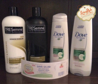 Unilever Catalina Deal Update At Shoprite Better Than Free Treseme Dove Hair Care More Dove Hair Care Hair Care Clear Hair