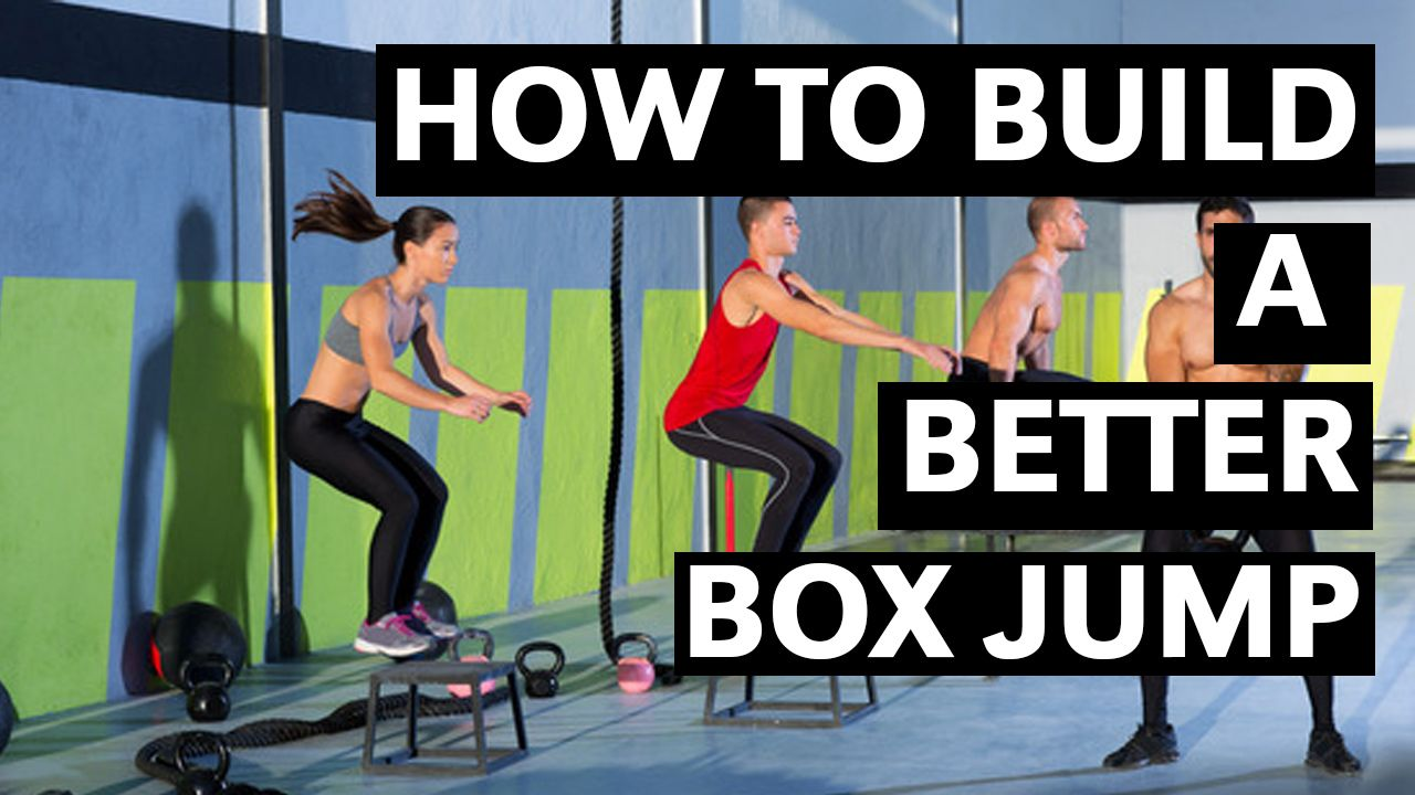 how to build a box jump