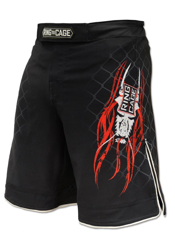 Elite Fight Shorts Black For Mma Bjj Jiu Jitsu Grappling No Gi Wrestling Waist 34 Fight Shorts Shorts Elite Shorts