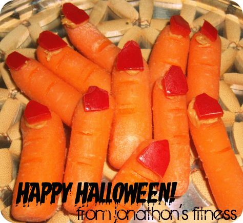 simple and scary vegetable decoration for halloween celebration scary witch fingers for halloween festival simple halloween decor ideas - Healthy Fun Halloween Snacks