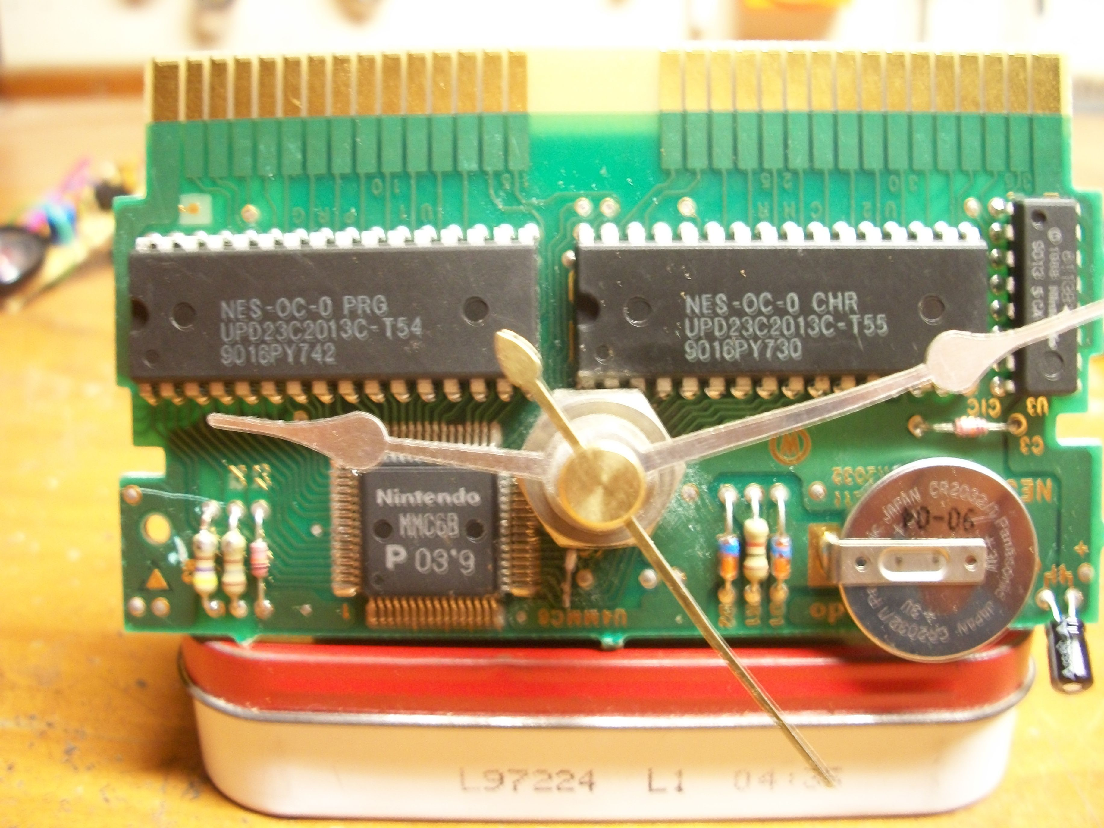 NES game circuit clock  Saw some neat ones on here so I had