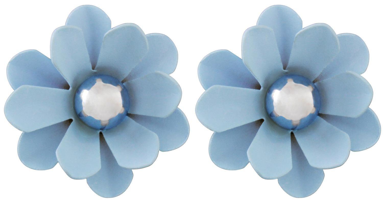 Bijou Brigitte  Ohrstecker - Blue Flower