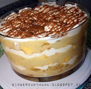 No Bake Caramel Apple Trifle