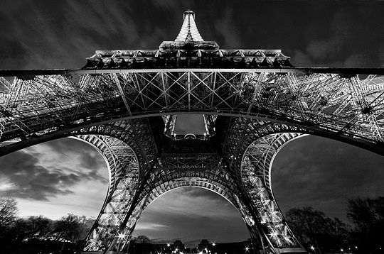 Paris eiffel tower paris cityparis eiffel towerslwren scottart photographyblack and white