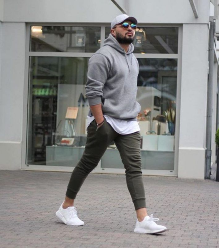 51 Chic White Sneaker Outfit You've Ever Laid Eyes On #manoutfit