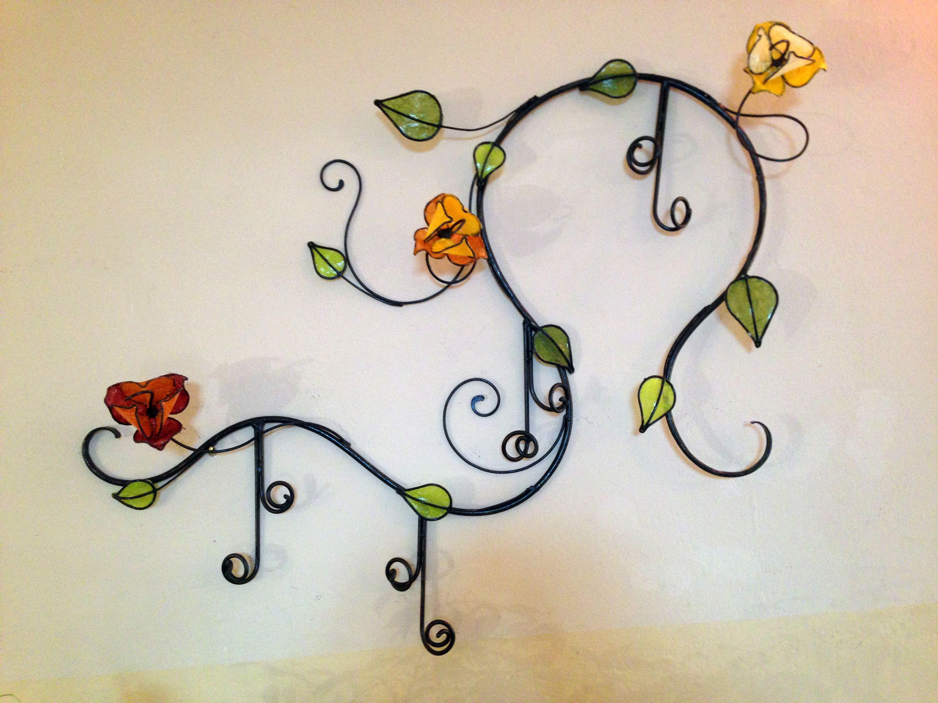 Appendi Pentole A Muro ramo appendi abiti | decorazioni floreali, decorazioni