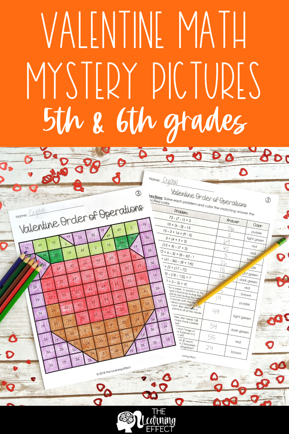 Valentine Math Mystery Pictures Multiplication Division Decimals Fractions Math Mystery Picture Math Valentines Math Pictures [ 1500 x 1000 Pixel ]
