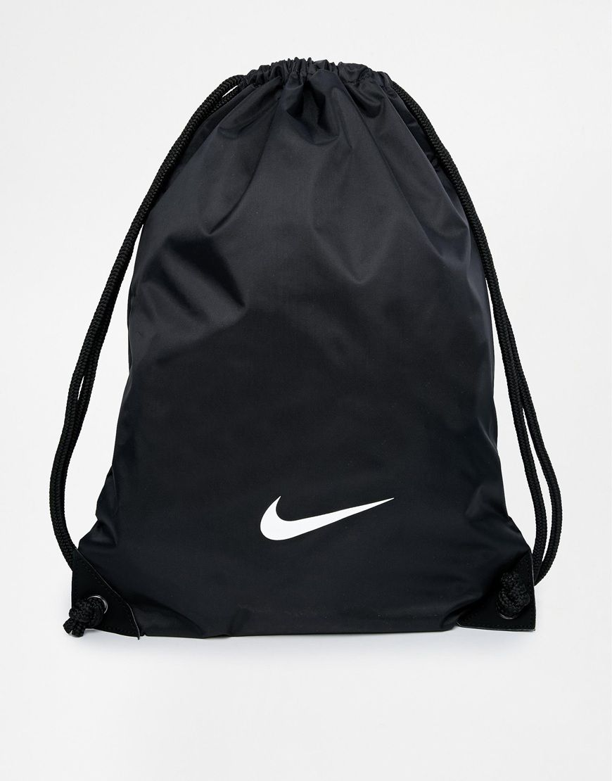 55c64a68923f Image 1 of Nike Gymsack in Black