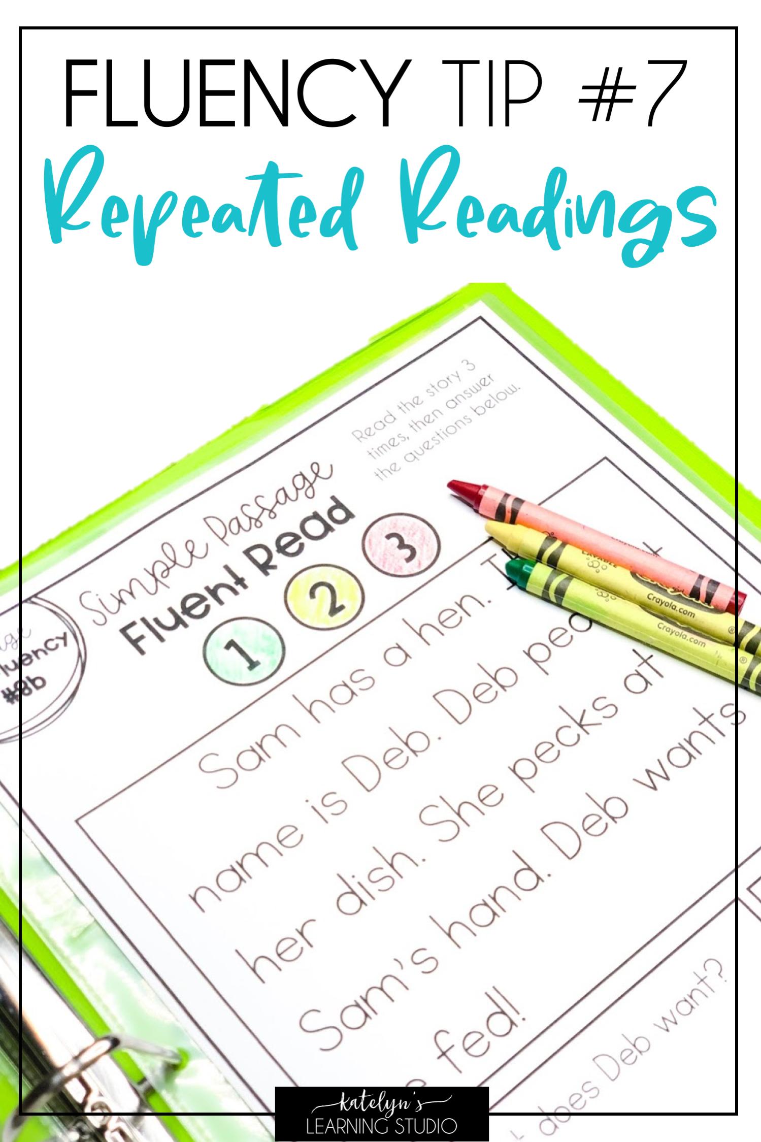 Reading Fluency Strategies To Help First Grade 2nd Grade