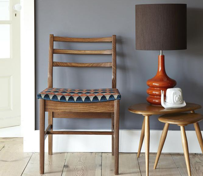 Retro Dining Room Chairs: Upcycled Retro Dining Chair